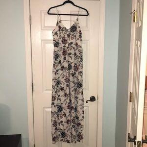 Loft Floral Maxi Dress